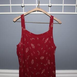 Eddie Bauer Dresses - Red Maxi Dress